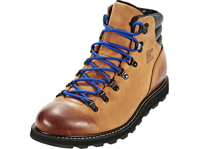 Sorel M's Madson Hiker Waterproof Shoes Elk/Black